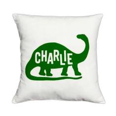 Dinosaur personalised cushion cover