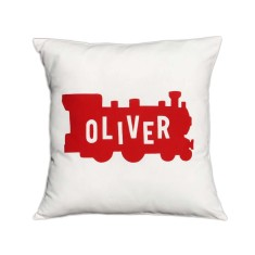 Train personliased cushion cover