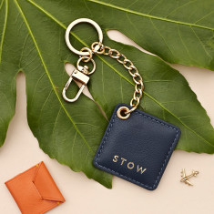 Soft Leather Personalised Keyring