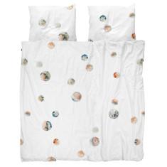 Snurk quilt cover set pom pom