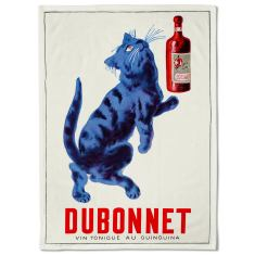 Dubonnet Cat Tea Towel