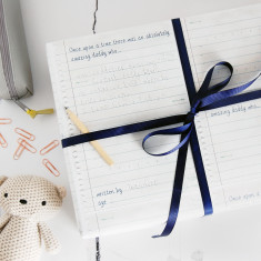 Write Your Own Story Father's Day Wrapping Paper Set