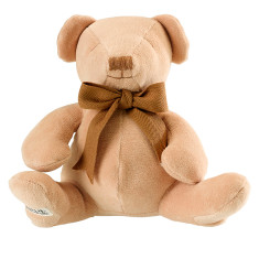 Teddy organic cotton soft toy