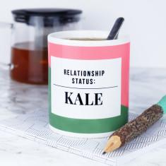 Relationship Status Kale Mug