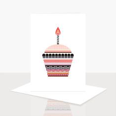 Cupcake Greeting Card (Pack of 8)