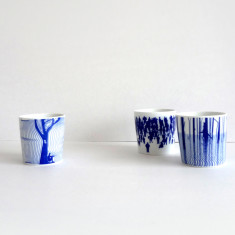 Australian Collection porcelain cup set