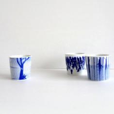 Australian Collection porcelain cup set