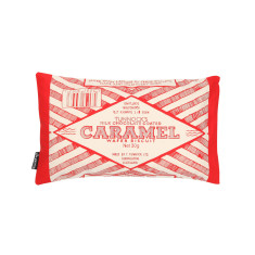 Tunnock's caramel wafer wrapper cushion