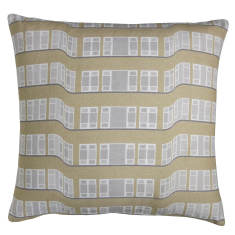 Modern deco cushion cover
