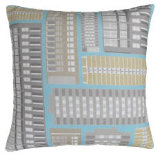 Modern block cushion cover