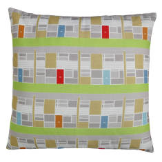 Modern span cushion cover