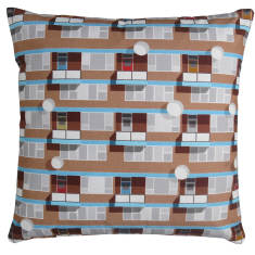 Beautiful estate Hackney cushion cover