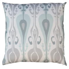 Boheme birdsegg ikat cushion