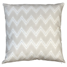 Boheme linen chevron cushion
