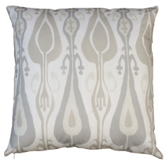 Boheme linen ikat cushion