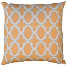Boheme mango trellis cushion