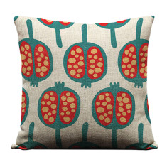 Pomegranate cushion cover
