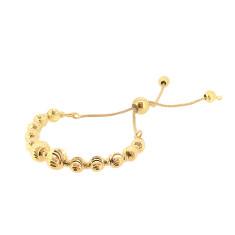Italian slide bracelet in gold
