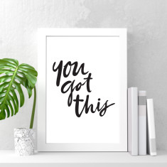 You got this art print (various sizes)