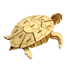 Wooden Puzzle - Sea Turtle