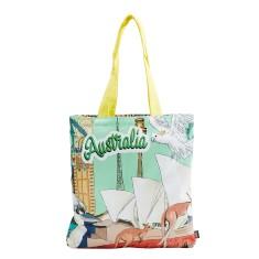 Australiana cotton tote bag