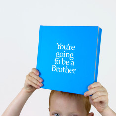 You're going to be a brother book and gift