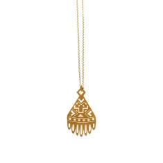 Gold Ariel Pendant
