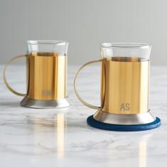 Personalised Initials Gold Mug