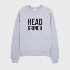 Head Grinch Christmas Jumper Sweater