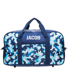 Personalised Overnight Bag - Camo