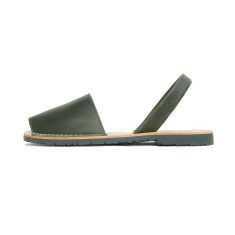 Morell leather sandals in khaki