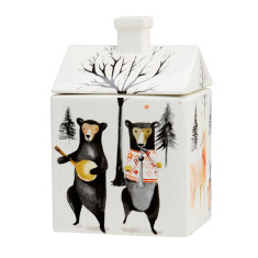 Animal Jamboree Cookie Or Storage Jar