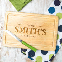 Personalised Family Slate Chopping Board
