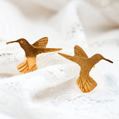 Amanda Coleman - Hummingbird Stud Earrings