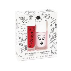 Kids Cottage Nail Polish & Lip Gloss Duo Pack
