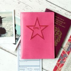Name in Stars Passport Holder