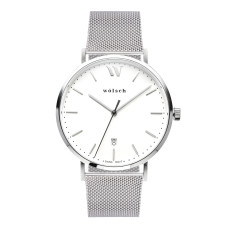 Versa 40 Watch in Steel with Mesh