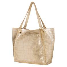 Wonder croc vegan leather tote bag