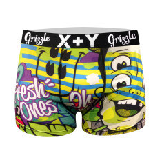 Men's artist collab trunk (mr grizzle & fresh ones)