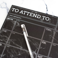 Things To Attend To Desk Jotter