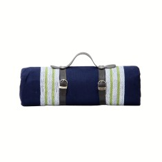 Aegean Luxury Picnic Blanket with waterproof backing