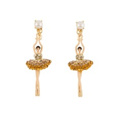 Ballerina Earrings - Ombre Yellow