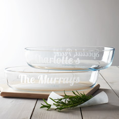 Personalised Glass Dish