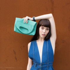 Tiffany's Leather Clutch