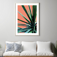 Terracotta palms #3 art print (various sizes)