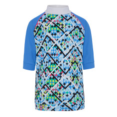 Girls' UPF 50+ Illusion Short Sleeve Sunshirt