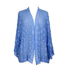 Kirri Embroidered Kimono Jacket (various colours)