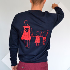 Personalised SuperDad Sweatshirt