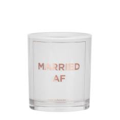 Married AF Rose Gold Candle