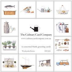 Kookery culinary Winter recipe card collection (set of 4)